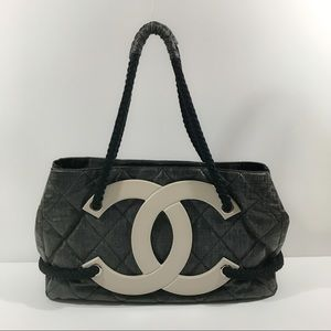 c05ad243d112 CHANEL Bags | Authentic Coated Canvas Large Cc Beach Tote | Poshmark